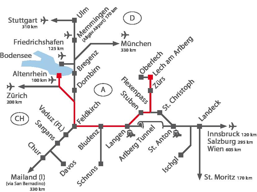 Altenrhein Airport - Arlberg