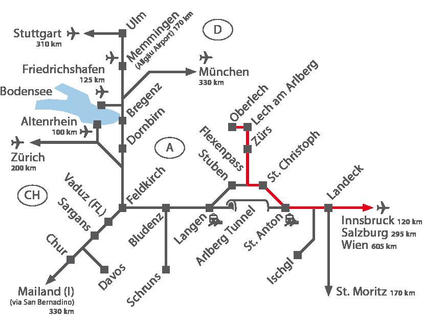 Innsbruck Airport - Arlberg