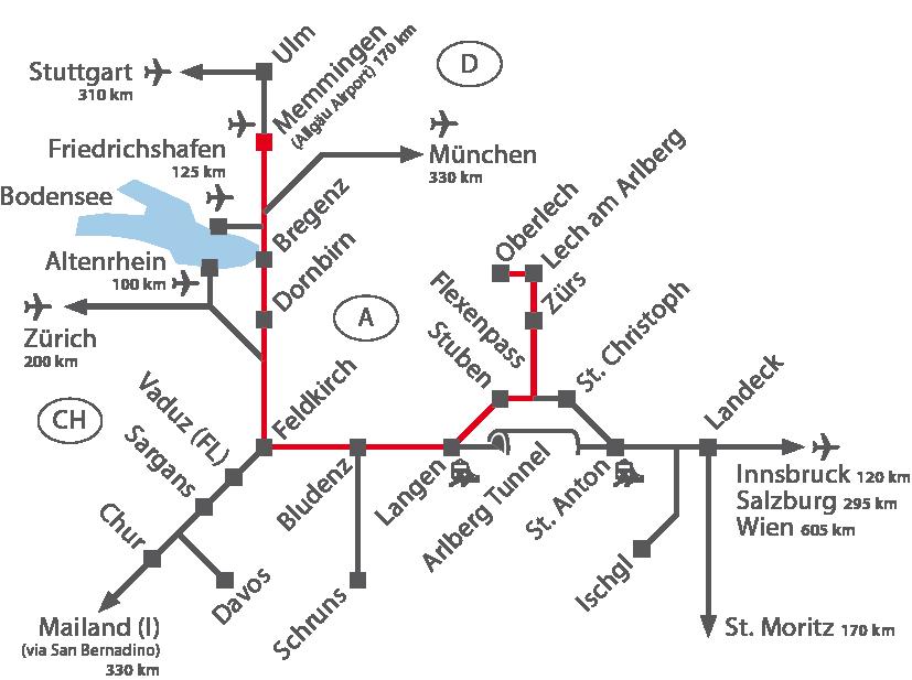 Memmingen Airport - Arlberg
